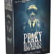 Based on the global gritty hit set in 1920s Birmingham, Peaky Blinders: The Card Game is quick to set up and easy to learn. It offers players depth, replayability and a different experience each time.