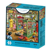 Ye Olde Toy Shoppe is one of the new 1000pc jigsaw puzzles from the artist Steve Crisp. There are 6 designs within this new range. Puzzle size 70cm x 50cm. Item code: K35003