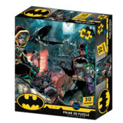 Batman & Robin New 500pc Prime 3D puzzle using the latest 3D lens to give great depth and motion to the image. Puzzle size 61cm x 46cm. Item code: BM32573