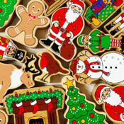 Lanka Kade's range of seasonal toy Christmas characters include Father Christmas, Elf, Nutcracker, Snowman, Gingerbread Man, Robin, Christmas Tree, Presents, Fireplace and Reindeer. These sustainable fair trade wooden toys are perfect for imaginative play and a great pocket money price.