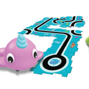 Go Pets – Dart, Scrambles, and Dipper are ready to introduce preschoolers to early coding skills through their fun coding storybooks. These clever motorised pets can follow black lines on all sorts of adventures and teach coding fundamentals through play.