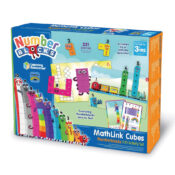 Best-selling Cubes meet CBeebies Numberblocks! This set has everything children need to build the Numberblocks One to Ten in the different ways seen in the episodes and engage with 30 activities from Series 1-3.