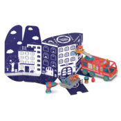 Drill, build and play. Bolt Buddies is the fun construction toy range that builds STEM and fine motor skills. Keep the packaging - the box converts into a play backdrop!
