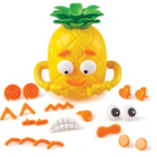 Great for social-emotional learning (SEL), children use the 26 expression pieces to make faces on the pineapple and learn about how emotions and expressions look on themselves and others. Two sides mean kids can build two faces.