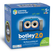 This award-winning robot toy introduces coding fundamentals through 100% screen-free play. Botley® 2.0 is ready to code right out of the box – code by colour, make Botley® 2.0 move in six directions, and put on a light show.