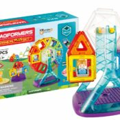 The new Magformers Carnival Plus Set is 2021 version of the best-selling Carnival Set and features key upgrades, including removable characters, new stands for the fairground rides and an easy-to-use base. It's a major remodelling of the previous much-loved model.