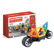 The Amazing Transform Wheel is a Magformers Top 10 seller. A key component is the special transforming wheels as they help make lots of different vehicles from motorbikes to monster trucks. A shop shelf must-have and keenly priced.