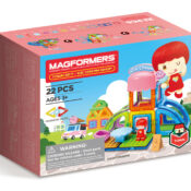 Adding play value to our toys saw Magformers introduce its Town Series last year and the Ice Cream Parlour set is a big seller. With a shopkeeper character and fun accessories it combines brilliantly with all our other sets.