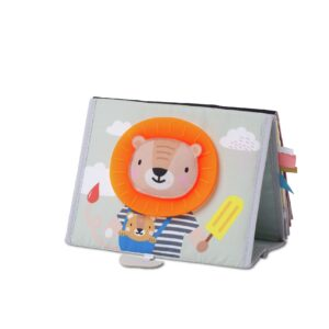 The Savannah Tummy Time book from Taf Toys is a double sided soft and crinkly baby book featuring lovely illustrations from Taf Toys' brand new Savannah Adventures collection. This freestanding 'flip and play' concept has proven particularly popular with consumers.