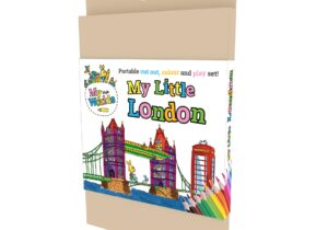 My Little London : Tower Bridge. Portable Cut out , Colour and Play Set.