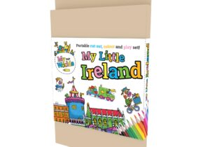 My Little Ireland : Dublin Castle. Portable Cut out , Colour and Play Set.