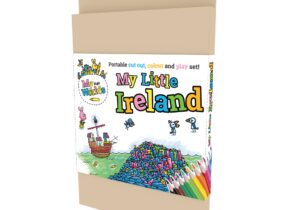 My Little Ireland : Giants Causeway. Portable Cut out , Colour and Play Set.