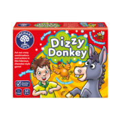 Dizzy Donkey is a hilarious game which offers refreshingly unique gameplay for children and adults. Players compete by acting out crazy combinations of animals, people, objects and emotions in a fun charades game for the whole family.