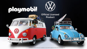 Playmobil Volkswagen Camper & Beetle