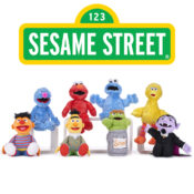 Sesame Street Soft Toys High-quality feature plush characters and basic soft toys that are new for April 2021.  Varying sizes and characters available, from small to large toys.  Suitable for ages 12M+.