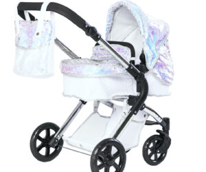 The Polly Single dolls pram was designed by Amy Childs with Roma Prams to suit little girls for all ages. It is suitable from 3 years to 9 years old.