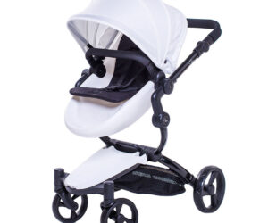 The Jemima dolls pram is a miniature version of Mum's pram! With a two-way facing seat unit, the Jemima mimics the features of a full size pram. Optional rose print accessories available.