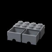 Brick 8 Drawer, new dark grey colour