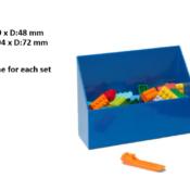 LEGO Brick Scooper. Comes in 2 different colour combinations.