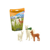 Great new addition to the Schleich range, with a cute family of 3 Alpacas, in a brand new packaging format. These animals are not available to buy separately, making this a really unique gift