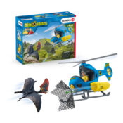 The adventure takes to the skies with this new addition to the Schleich Dinosaurs world. The helicopter is a perfect addition to the range.