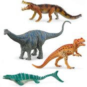 Great new additions to the Schleich Dinosaurs range, with the customary Schleich detail, quality and play value. New models include the ever-popular Brontosaurus, fiersome Mosasaurus and Kaprosuchus.
