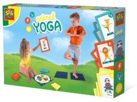 Play Animal Yoga with your friends. Spin the wheel and take a card. Turn the card over and see which pose you have to do! Can you do all 27 poses? A varied mix of balance exercises and power moves.