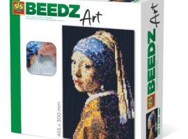 Make your own beautiful iron-on beads work of art measuring 30cmx40cm with BEEDZ Art. BEEDZ Art is a complete activity, with everything you need to get started on a new creative challenge!