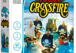 Pirates Crossfire challenges players to bring the enemy into the line of fire and sink his ships. Alternatively, they can opt to keep the peace and avoid total war. Pirates Crossfire offers four playing modes and includes 80 challenges.