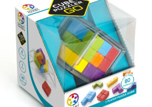 Can you build a cube from the 7 colourful puzzle pieces? Put your spatial insight, logic and deduction skills to work as you create cubes to solve each challenge! Includes a booklet with 80 3D-challenges & solutions.