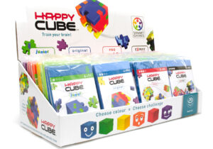 These wonderful foam cube kits have won many major awards. Each set comes flat-packed and the first part of the challenge is to make the cube. With varying levels of difficulty these brain-boxes will challenge you for hours