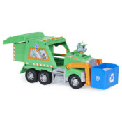 With PAW Patrol's Rocky and his Reuse It Truck, you can recycle materials and turn them into tools to help you save the day. Equipped with rolling wheels and moving arms, it makes it easy to play out missions.