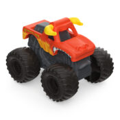 The new 1:87 scale Monster Jam Mini trucks are compact and small in size and packed with awesome details. With so many to collect, add Grave Digger, Max-D, Megalodon, El Toro Loco and more to race them all.