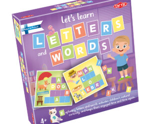 New educational game range for pre-schoolers developed in partnership with Finnish teachers. 4 exciting and fun learning word games in one box. Age 3 years+.