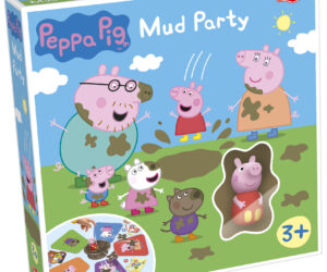 The Mud Splatting Game. Watch the Mud fly! Splat everyone first to win! Age 3 years+.