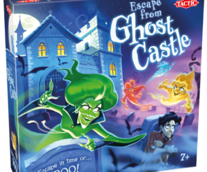 A family of ghosts is chasing you! Choose a hiding place and try to sneak out of the castle before the ghosts catch you. Age 7 years+.
