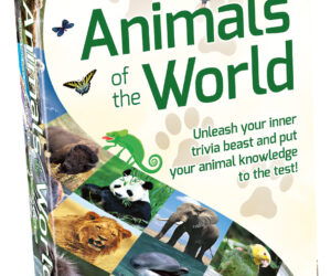 Take a trip around the world, meet and recognise amazing wild animals and answer questions about them. The player who has placed the most animals on the right continents wins! Age 8 years+