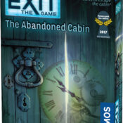 The Exit Series of 17 best-selling games allows you to bring the intensity and team spirit of an escape room to your living room. You must solve a series of riddles or puzzles to unlock doors and objects to escape!