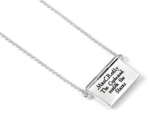 Sterling Silver Personalised Acceptance Letter Necklace