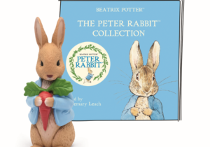 Peter Rabbit Collection Tonie, showcasing Beatrix Potter's most famous tales that have delighted British households for decades, including The Tale of Peter Rabbit, The Tale of Benjamin Bunny, The Tale of Mr Tod. Launching 11th February 2021