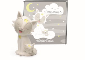 Aiding a peaceful slumber are the Nap Time Nature Sounds and the Nap Time White Noise Tonies. Launching 11th March 2021