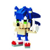 Build your very own classic video game favourites with nanoblock! Build Sonic the Hedgehog with the original micro-sized building blocks to add to your Sonic collection. Comes with 150 Nano Block pieces and colour instructions