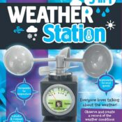 Science Mad Weather Station with 5 features for measuring temperatures, rainfall, wind speed & direction. Launching summer, from Trends UK & Wind Designs.