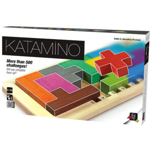 Katamino is a puzzle game with both 2D and 3D challenges of progressive difficulty, and also offers a strategic game challenge for two players. It is extremely popular in education, helping children understand basic geometry. Katamino has received multiple awards worldwide, and its easy to see why!