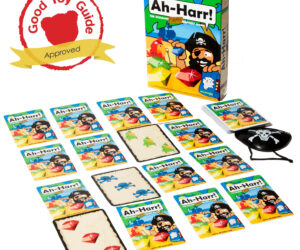 A popular pirate memory game with a twist. Aimed at the millions of families who buy matching games and want something a little more involved. Five games in one. Featuring jewels, treasure maps, pirate captains and stealing parrots!