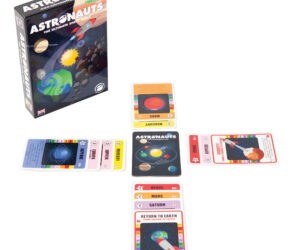 ASTRONAUTS is our award winning space race game for all the family where you explore the planets and moons of our solar system. It's been recommended in several national magazines and endorsed by the EU Universe Awareness Programme for kids.