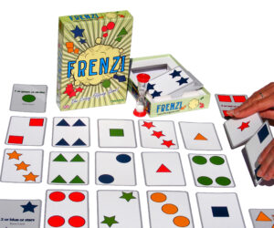 FRENZI is the craziest, fastest, flipping card game in the world. Simple rules, quick play, very exciting and totally addictive for adults and kids. A lively party game that tests observation, speed & reactions and gets everyone off their seats!