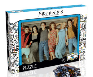 Following the immense success of the FRIENDS 1000pc Milkshake and Scrapbook puzzles, FRIENDS Stairs is the latest addition to the range. Featuring an iconic image and superior quality pieces.