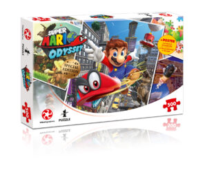 Join Mario and friends in this officially licensed 500 piece puzzle. Also in the range are: 1000 piece Mario Kart Funracer, and the 500 piece Mario and Friends.