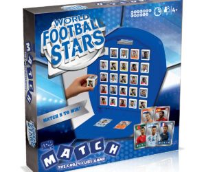 New players and new packaging in this updated version of the bestselling and popular World Football Stars range.